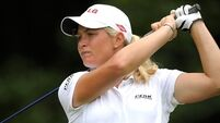 Suzann Pettersen sets clubhouse target at Women's British Open