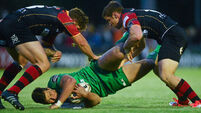 Connacht show battling qualities to slay Dragons