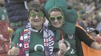 VIDEO & GALLERY: Fan frenzy fuels Irish invasion of Cardiff