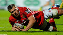 CJ Stander the standout for Munster