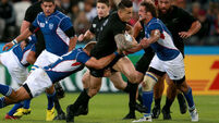 New Zealand triumph over Namibia at the Olympic Stadium