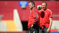 Anthony Foley plays cool ahead of Ravenhill showdown