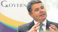 Paschal Donohoe accused of pulling funds 'out of the sky'
