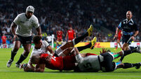 England's laboured launch as Fiji put up fight