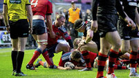 Ruthless Munster remain on target