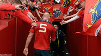 Munster honour Paul O'Connell with classic Thomond theatre