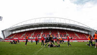 Munster ready to rumble at Ravenhill
