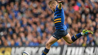 Leinster bid to finish on high