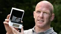 Paul O'Connell 'honoured' by Player of the Year award