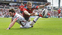 Munster may yet draw comfort from Ulster draw