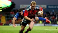 Munster Rugby may give Earls a run at Zebre