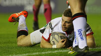 Stuart McCloskey sees red as Ulster edge Edinburgh