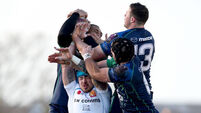Connacht led at half time, but lost 33-24 to Exeter Chiefs