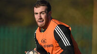 Munster's JJ Hanrahan utilised at full-back for tonight's clash against Cardiff