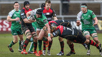 Connacht edge Dragons