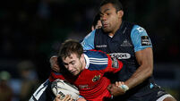 Hanrahan the fall guy for Munster