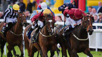 George highlight of O'Brien Group 1 treble