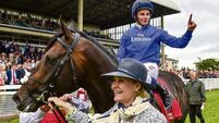 William Buick's cruise as Jack Hobbs trimmed for Arc