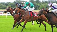 Pat Smullen and Eshera strike gold in Platinum Stakes