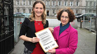 12,000 sign mental health petition presented to Helen McEntee