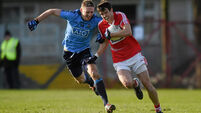 Jamie O'Sullivan for Brian O'Driscoll the sole Cork change for Dublin showdown