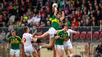 Kerry survive the numbers game in Omagh finale