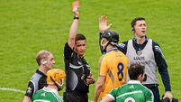 Red card decisions by Colm Lyons were correct