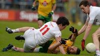 Tyrone fall again to tormentors Donegal