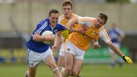 Pre-match drama fails to rattle Antrim