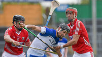Maurice Shanahan '50-50' for Waterford's clash with Cork