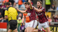 Damien Comer's goal helps to steady ship for Galway