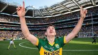 James O'Donoghue starts for Kerry against Tyrone