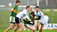 Tommy Walsh kept in reserve as IT Tralee stun Kerry