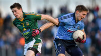 Injury time victory for Dublin over Meath