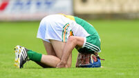 Offaly boss must plan without Cathal Parlon