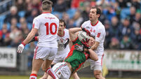 Tyrone claim four point victory over Mayo