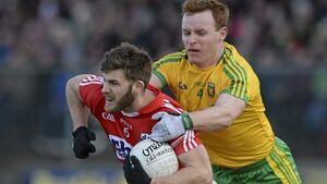 Donegal footballers survive late onslaught by Cork