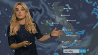 Weather presenter loads report with Ghostbusters references