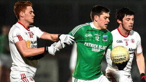 Mark Kavanagh and Mark Bradley lead Tyrone to victory