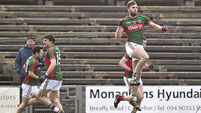 Aidan O'Shea revels in new role as Mayo get back on track against Monaghan