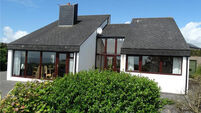 Sunny Dún an Óir sits above coastal glories in West Cork