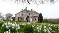 Grand, Victorian Woodville House is on the Blackwater and has eleven peaceful acres
