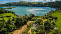 This lodge style home has a special setting on marine-rich Lough Hyne