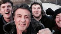 Stallone delivers knockout selfie on Rocky steps