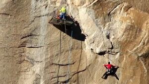 Climbers, one with nine fingers, close to completing 17-day ascent without ropes