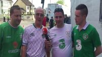 Irish fans in Cork are in confident mood prior to #Euro2016 campaign