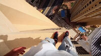 VIDEO: Parkour on the 43rd floor of this Dubai hotel is insane