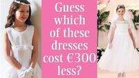 Guess which of these Communion dresses cost €300 less?