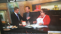 The Taoiseach went on telly this morning and made scones