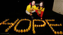 Here's a few photos from today's Darkness Into Light fundraiser in Dublin